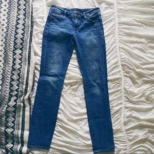 Lucky Brand Hayden Skinny Mid-Wash Jeans